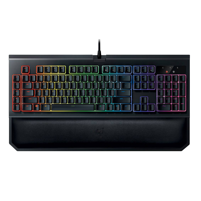 Razer Blackwidow Elite Orange Switch Gaming Keyboard