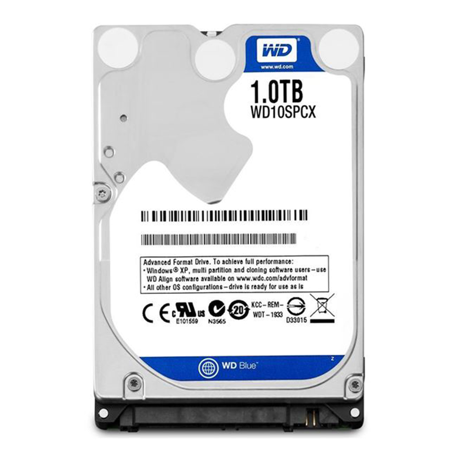 هارد نوت بوک Western Digital Blue 1TB