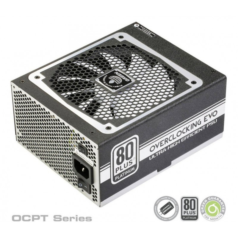 پاور Green GP850B-OCPT Overclocking Evo 80 Plus Platinum